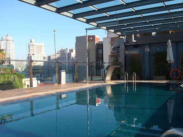 Hotel madrid piscina vistas
