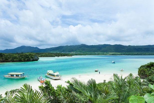 Kabira Bay Beach Ishigaki Island