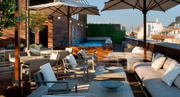 Hotel Barcelona piscina Exterior