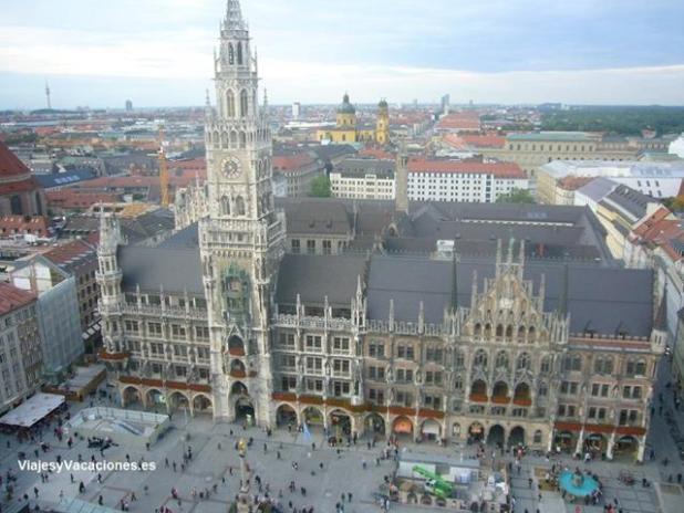 MarienPlatz vista desde la torre