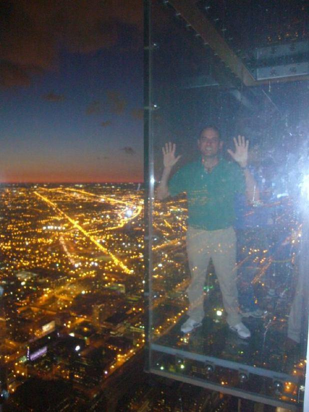 Torre Sears (Skydeck) suelo de cristal