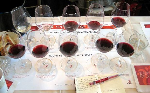 Ruta del vino por Rioja