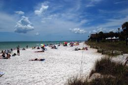 La playa de Fort Myers en Florida