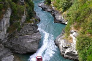 jetboating en Queenstown