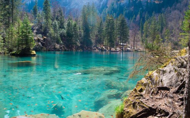 Blausee-Suiza