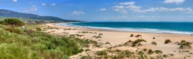 Panorámica de la playa de Bolonia