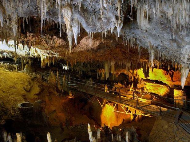 Cueva el soplao Cantabria