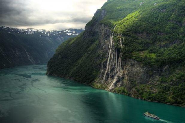 Catarata de Noruega