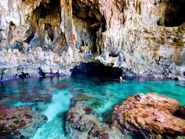 La cueva de Avaiki (Niue)