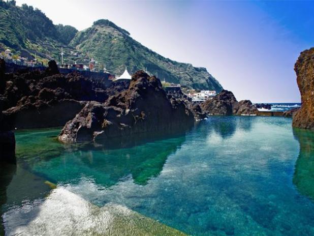 Porto Moniz, Madeira, Portugal
