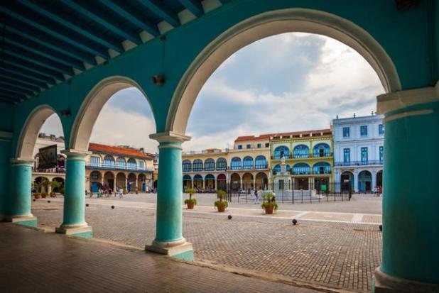 La Plaza Vieja de la Habana