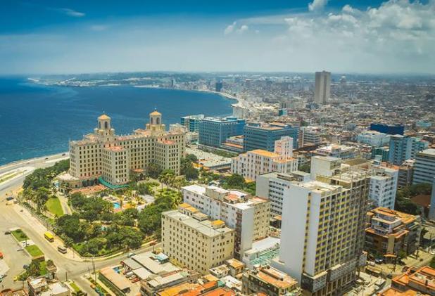 Hotel Nacional de Cuba.