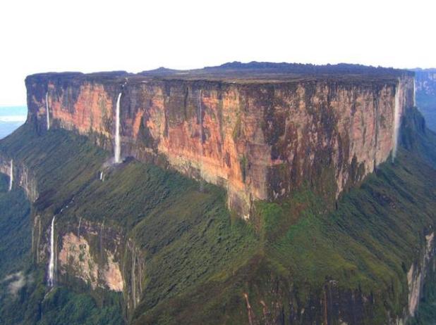 El monte Roraima en Venezuela