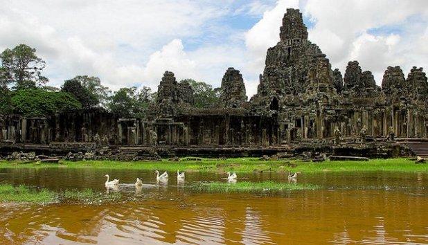 Bayon templo, Angkor, Camboya