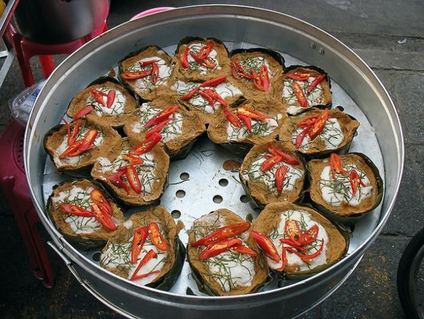 Comida callejera en Thailandia