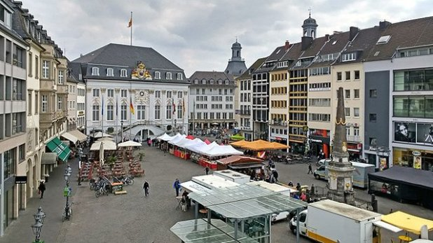 La Marktplatz (Plaza del Mercado)