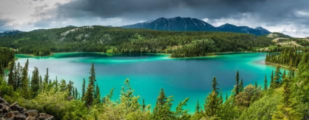 Lago Esmeralda (Emerald Lake, Canada)