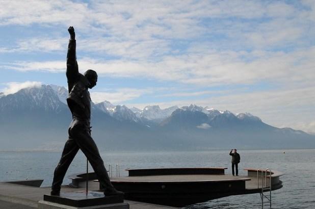 Estatua de Freddy Mercury (Montreux, Suiza)
