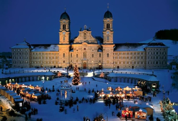 Monasterio Benedictino Einsiedeln Suiza