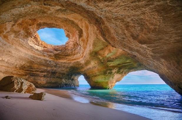 La costa de Algarve