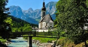 Iglesia San Sebastian Ramsau