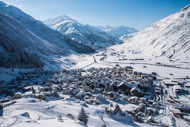 El pueblo de Andermatt