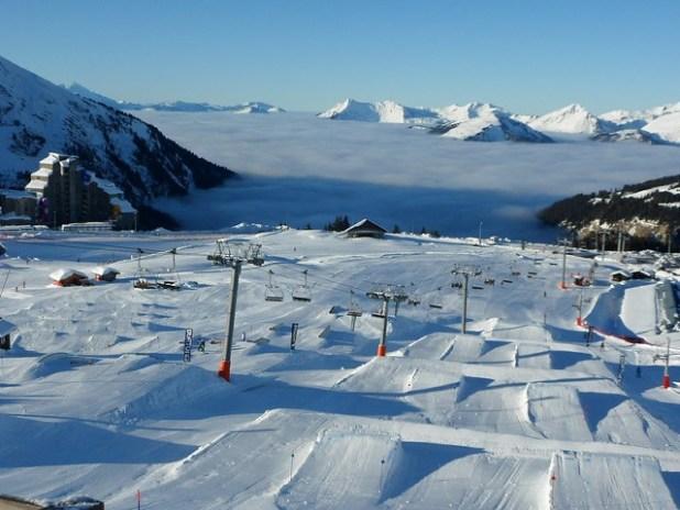 Pistas de esquí de Avoriaz