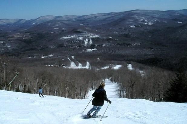 Esquiando en Belleayre