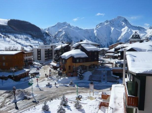 Pueblo de Les 2 Alpes (Francia)