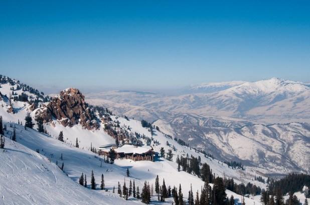 Vista de Snowbasin (Utah)