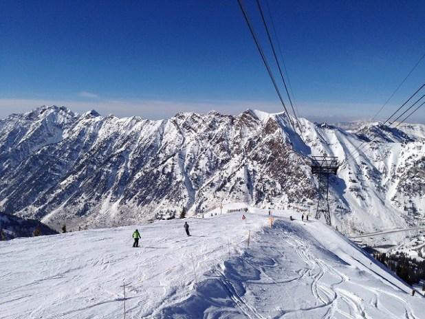 Esquiando en Snowbird (Utah)
