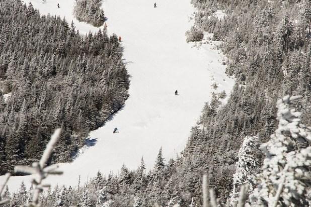 Esquiando Whiteface (New York)