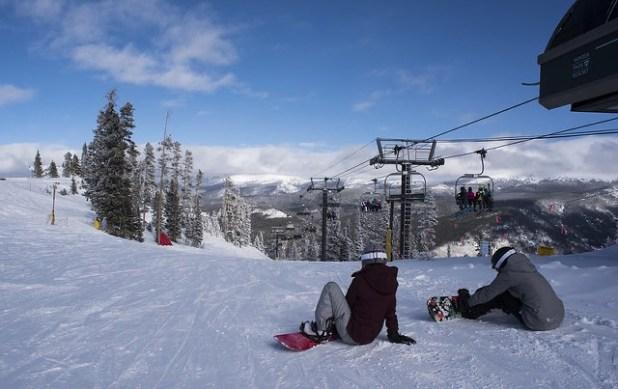 Snowboard en Winter Park Colorado