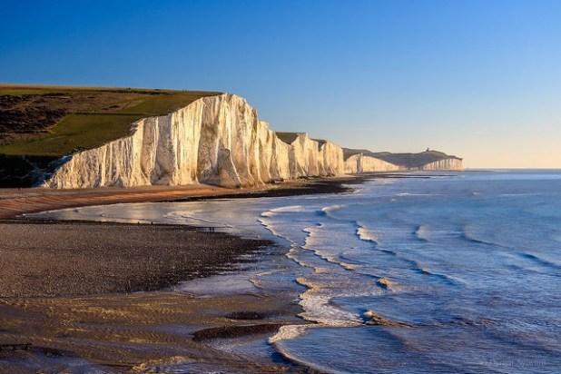 Playas de East Sussex, Inglaterra
