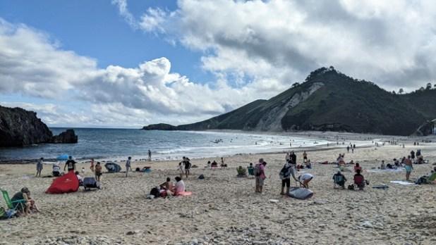 Playa de San Antolín (Asturias)