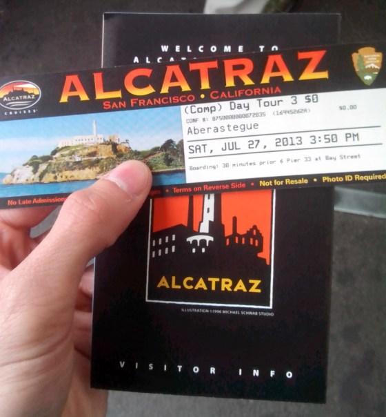 Visita a la Isla de Alcatraz (San Francisco, California)