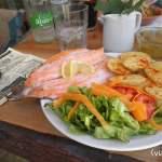 Trucha en Las Siete Cabritas