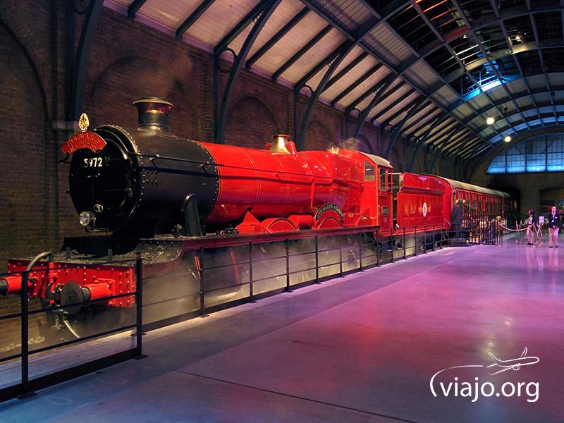 Locomotora original del Hogwarts Express