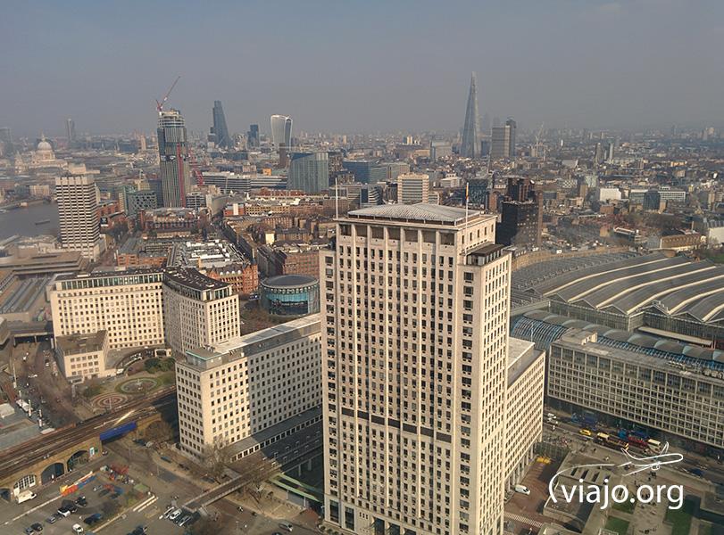 Vista de la ciudad desde el London Eye