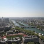 Torre Eiffel - Vista del río Sena