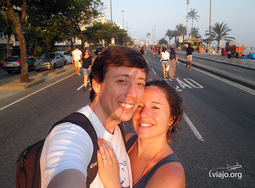 Río de Janeiro - Atardecer en Ipanema