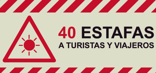 Las 40 estafas más comunes a turistas y viajeros