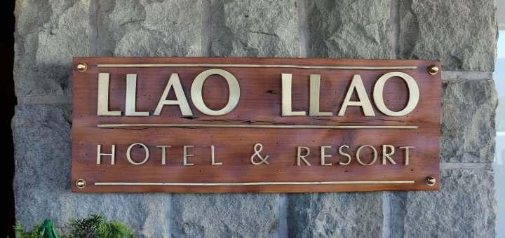 Tomar el té en el Hotel Llao Llao