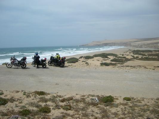 Descansando cerca de Agadir