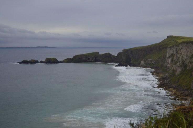Larrybane Bay y Carrick-a-rede