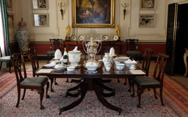 The Dining Room, a sala de jantar. Foto: Clarence House