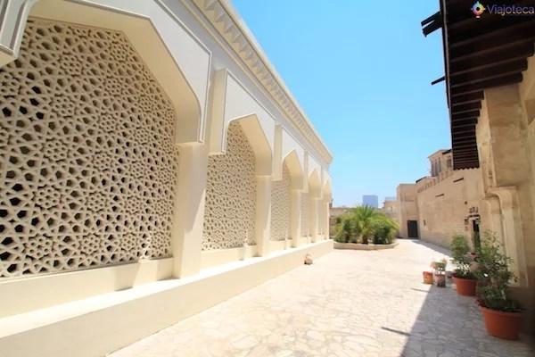 Fantástica arquitetura árabe em Dubai
