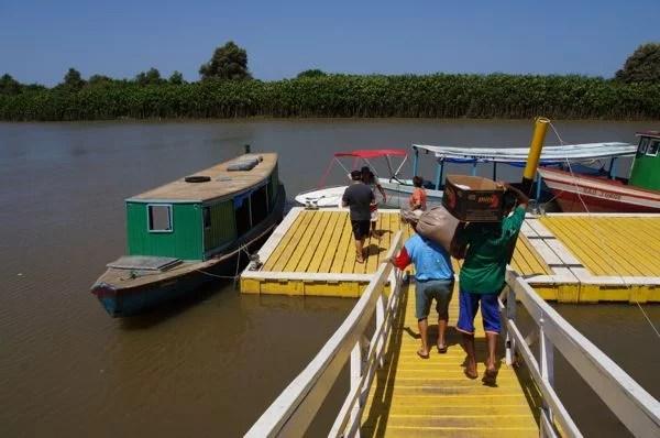 Porto do Delta do Parnaíba no Piauí