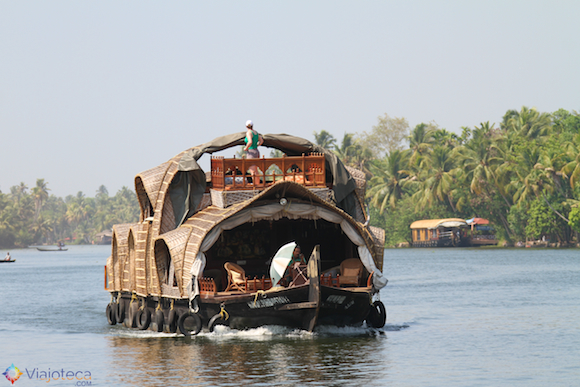 Casa Barco no Kerala