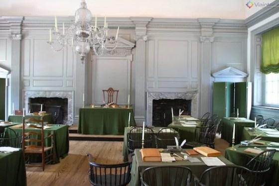 Independence Hall – a declaração de independência e a constituição nasceram aqui